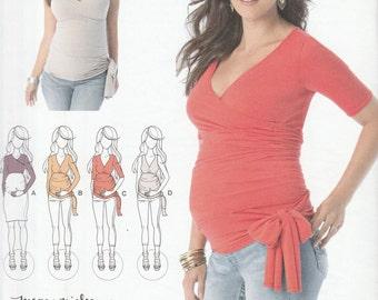 Simplicity 1468 A Knit Top Maternity Pattern