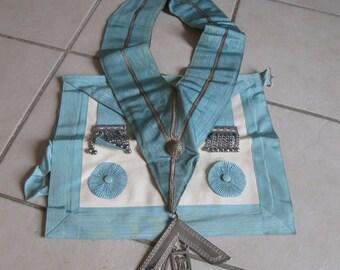 A Vintage Masonic Master's Apron and Sash