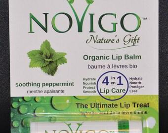 Novigo Organic Lip Balm 4.25g (Soothing Mint)