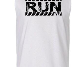 Run Man'S Sport Shirt,Weightlifting Top, Fitness t-shirt, Gym tank, Workout Clothes, Workout, Workout Tank, Run Tank, Running Clothe for Men