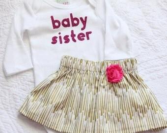 Little Sister - Baby Sister Onesie