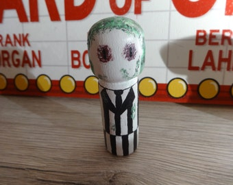 Beetlejuice Peg doll