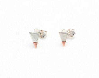 Earrings : 01.01.Triangle05X08