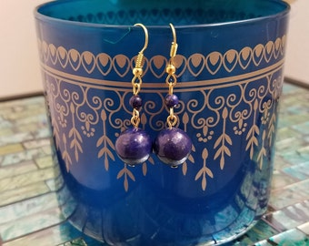 Lapis Lazuli Earrings, Gemstone Earrings, Lapis Lazuli Jewelry