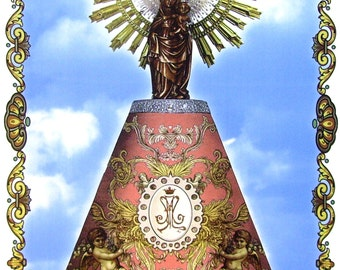 The Virgin of the Pilar tile