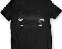 2016 Dodge Charger R/T T-shirt 100% Cotton