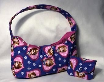 Sofia Quilted Toddler Purse, Purse, Sofia Handbag, Toddler, Disney Handbag