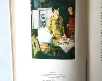 1929 Frigidare Recipes Cookbook