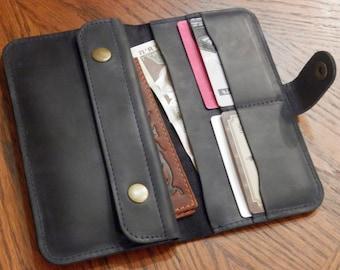 Leather Wallet Vacation passport case Vintage wallet Leather iPhone Wallet Passport Wallet Handmade Travel wallet Man wallet Boyfriend gift