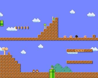 Super Mario Maker Custom Level Image