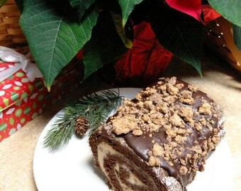 Chocolate Peanut Butter Roll