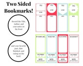 Printable Bookmarks - For Reading, Journaling, Taking Notes, and More!