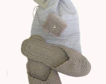 Crochet Slippers , comfy,gift for women/men, flip flops