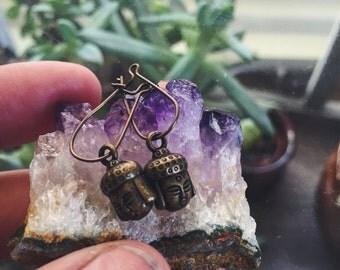 Baby Buddha Earrings