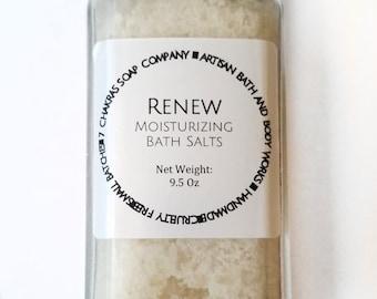 Dead Sea Salt and Coconut Milk Bath Salts - Natural