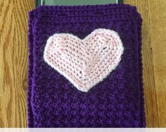 Handmade Crochet Tablet - Cozy - iPad, Kindle Fire, iPad mini, Kindle, Nook, eReader