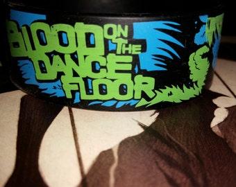 Blood On The Dance Floor rubber bracelet