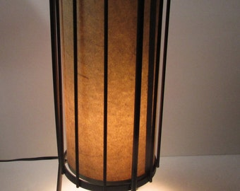 1960's Style Table or Accent Lamp - Incandescent (Max 60 Watt) - Stands 18 inches