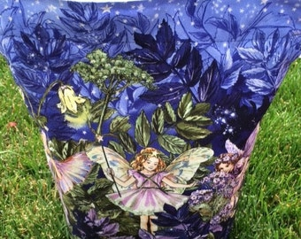 Midnight Flower Fairies Project Bag