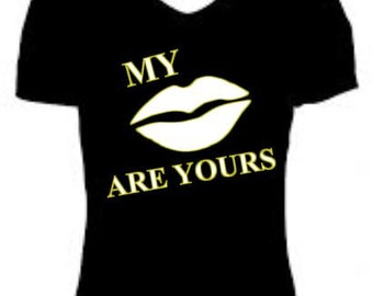 "Glow in the Dark ""My Lips Are Yours"" T-Shirt"