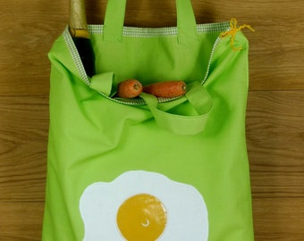 """Shopping bag """"Fried egg"""""""