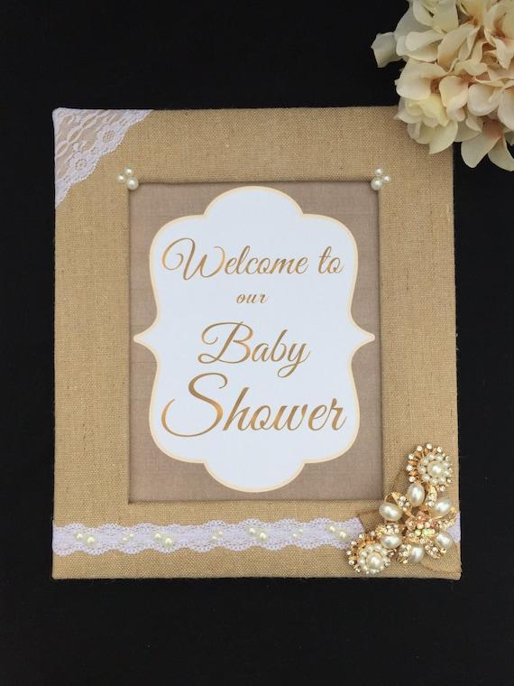sign frame baby shower frame baby shower sign neutral baby shower