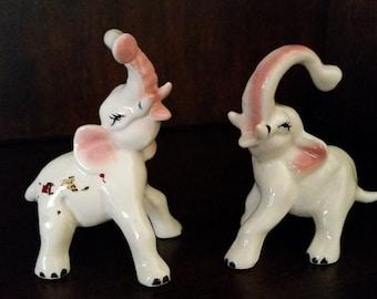 Ceramic Elephant Figurines
