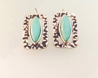 Persian Blue Earrings 2