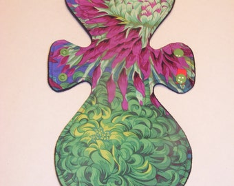 WhoosInUrPanties Pandora Chrysanthemum Print Cloth Pad