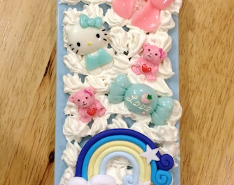 Blue Iphone 5/5S Decoden Case
