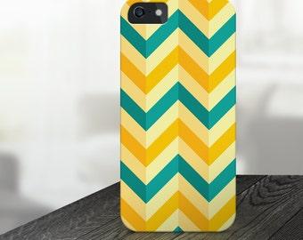zig zag iphone case, chevron iphone case, yellow iphone case, blue iphone case, turqois iphone case, zigzag iphone case, iphone 6, iphone 5