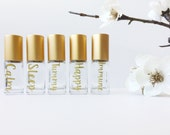 5ml Matte Gold rollers: Everyday Collection or Custom