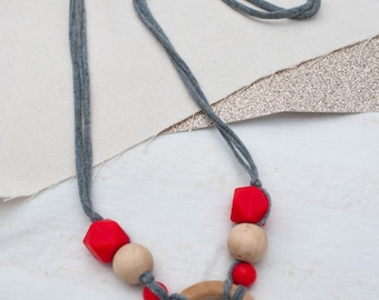 Counterbalance Teething Necklace