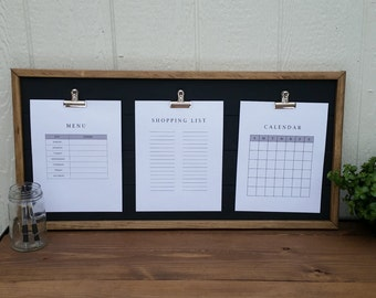 Triple Framed Clipboard