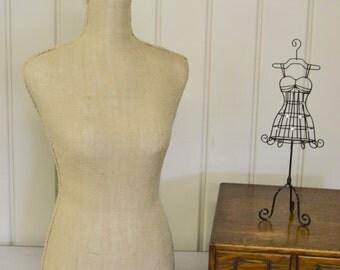 New Design Linen Dress Form - Tabletop Design