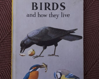 Vintage Ladybird Book Birds and How They Live. Matt Hardback First Edition 2'6