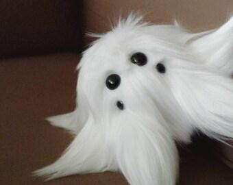 Halloween Stuffed Spider Plush Ghost Stuffed Animal Handmade Halloween Decoration Stuffed Toy