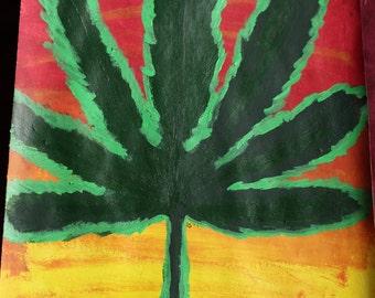 Acrylic Leaf