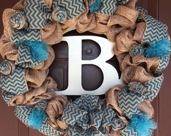 Custom wreath with your initial....