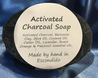 Activated Charcoal facial bar by RioFleur