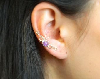 Clip-on earrings Clip on ear cuffs Ear cuff non pierced Сartilage ear cuff Non-pierced earrings Bohemian Ear Cuff Ear Climber Ear wrap