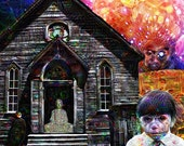 Note Cards Deep Dreams Psychedelic Church