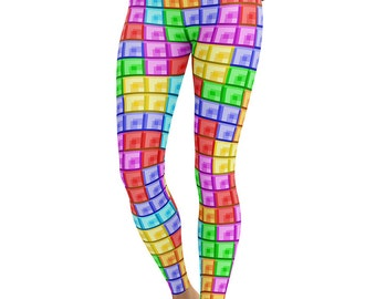 Tetris Sublimated Legging