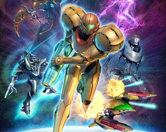 Metroid Prime 3: Corruption Samus Aran Poster
