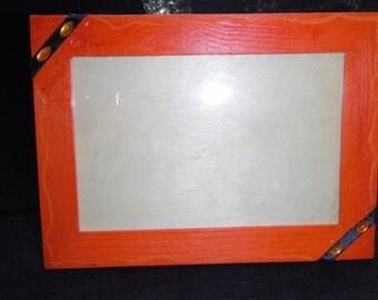 Orange frame 10x15cm (12)