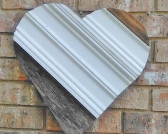 WOOD HEART, Heart Sing, Wedding Heart, Heart Decor, Heart Art, Wooden Heart, Wood Heart Sing, White Heart, Pallet Heart, Rustic white heart