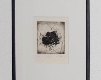 Fine art print 'Tape' (original etching)