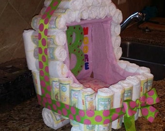 Drea's Diaper Creations will definitely make a pregnant mom feel loved!