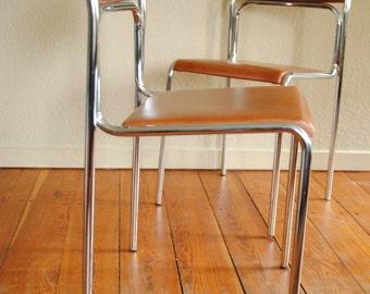 2 x vintage kitchen chairs