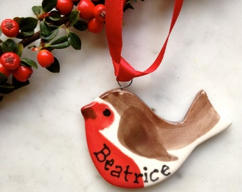 Personalised Little Robin